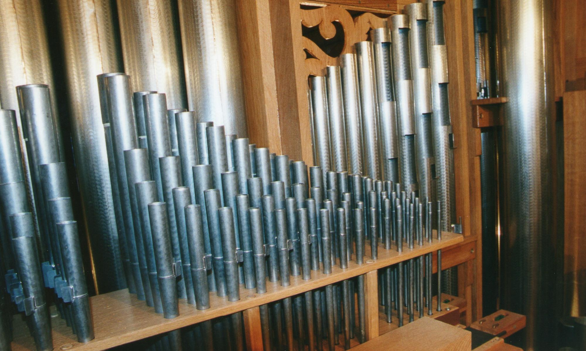 Coffre de l'orgue de Chantepie