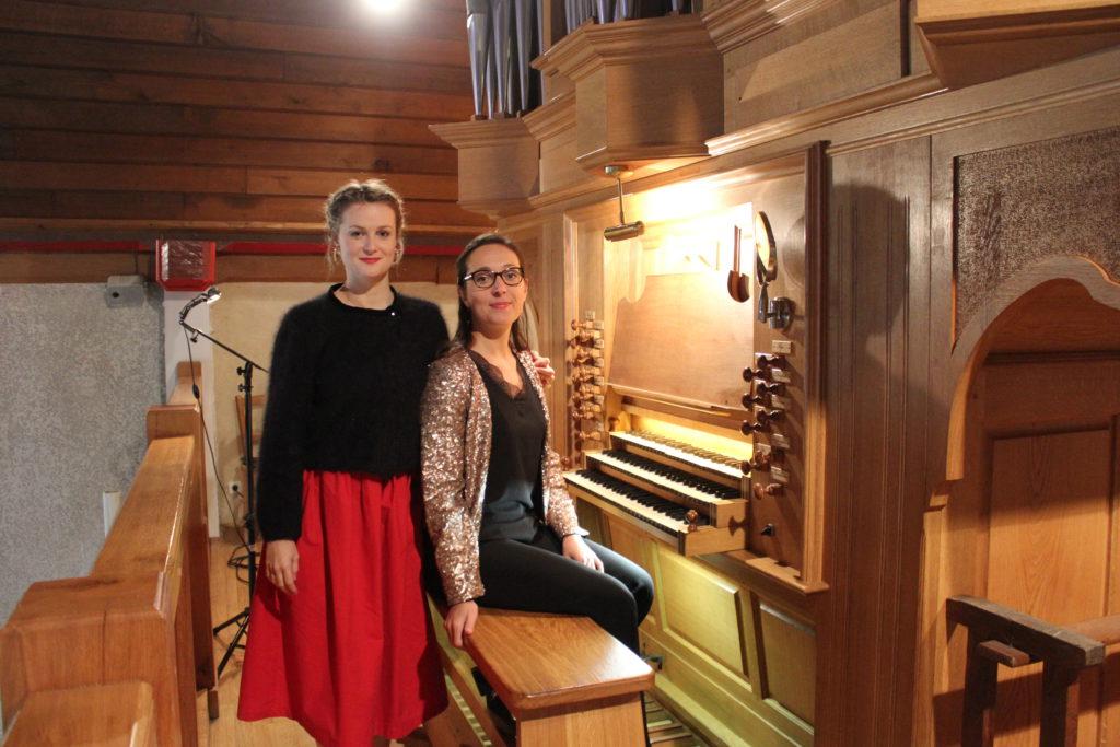 Pauline Rinvet et Coralie Amedjkane